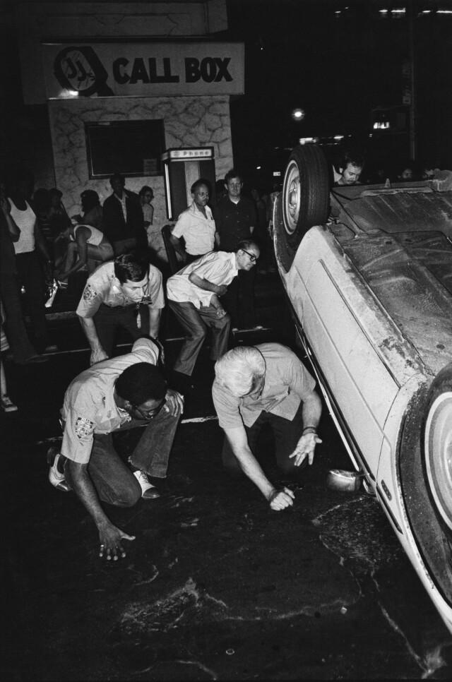 «Уличные копы», Нью-Йорк, 1978-1981. Фотограф Джилл Фридман