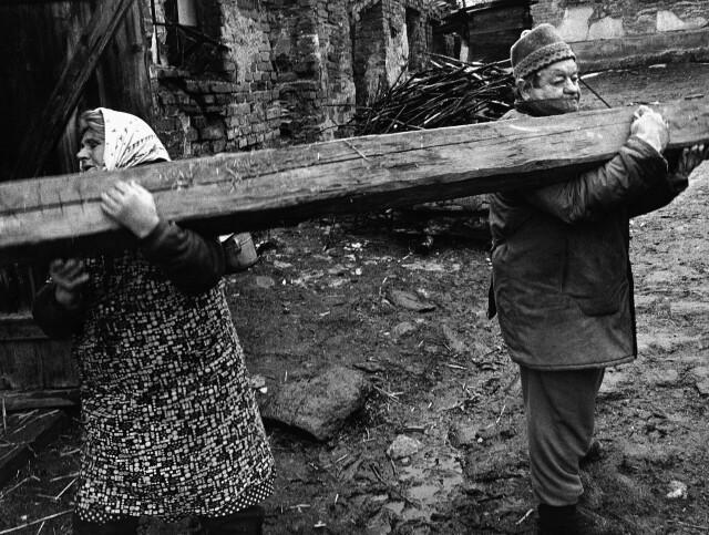 Единомышленники. Оломоуцкий край, Чехия, 1993. Фотограф Йиндржих Штрейт
