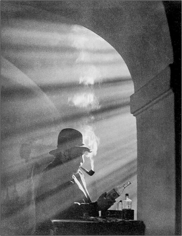Дымящаяся трубка. Фотограф Йозеф Судек