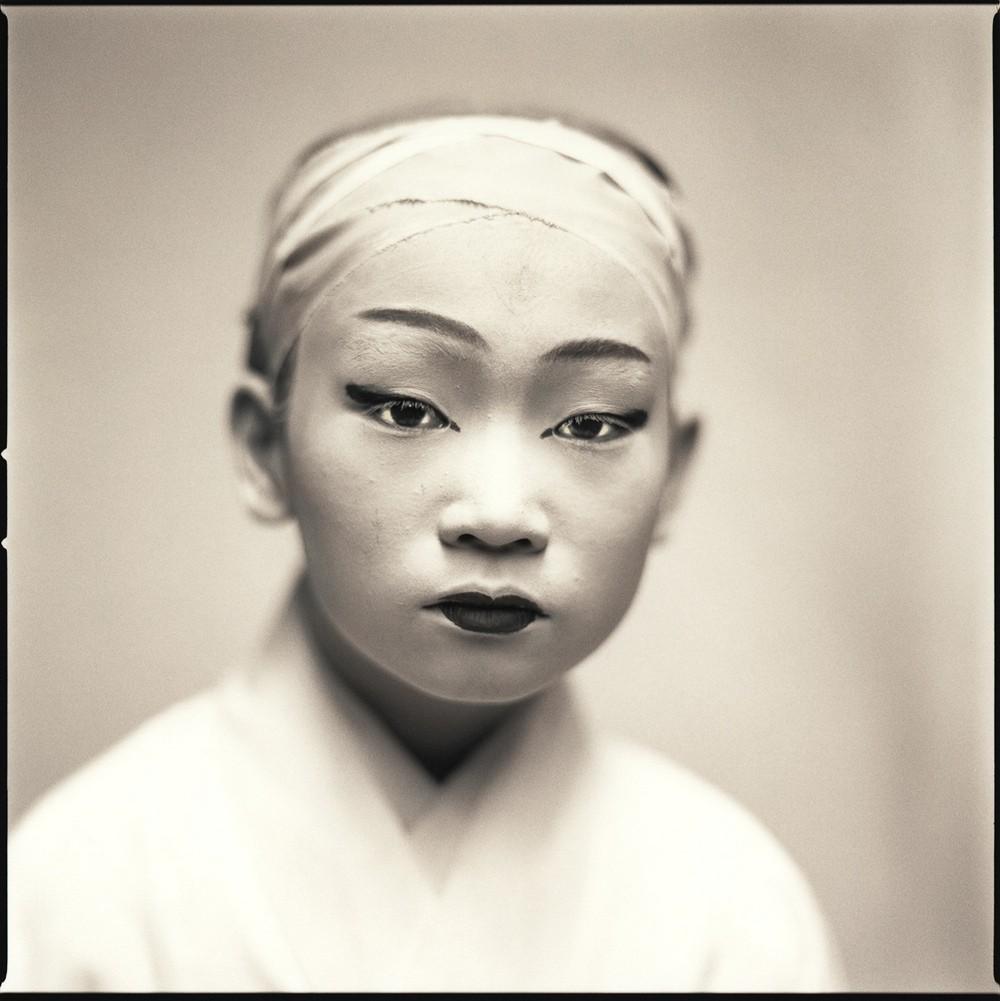 Актёры кабуки. Майко Такаку. Хироси Ватанабэ
