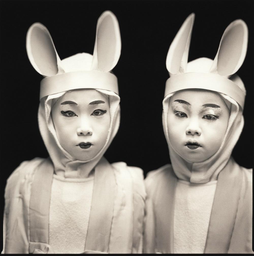 Актёры кабуки. Марина Эма и Казуса Ито. Хироси Ватанабэ