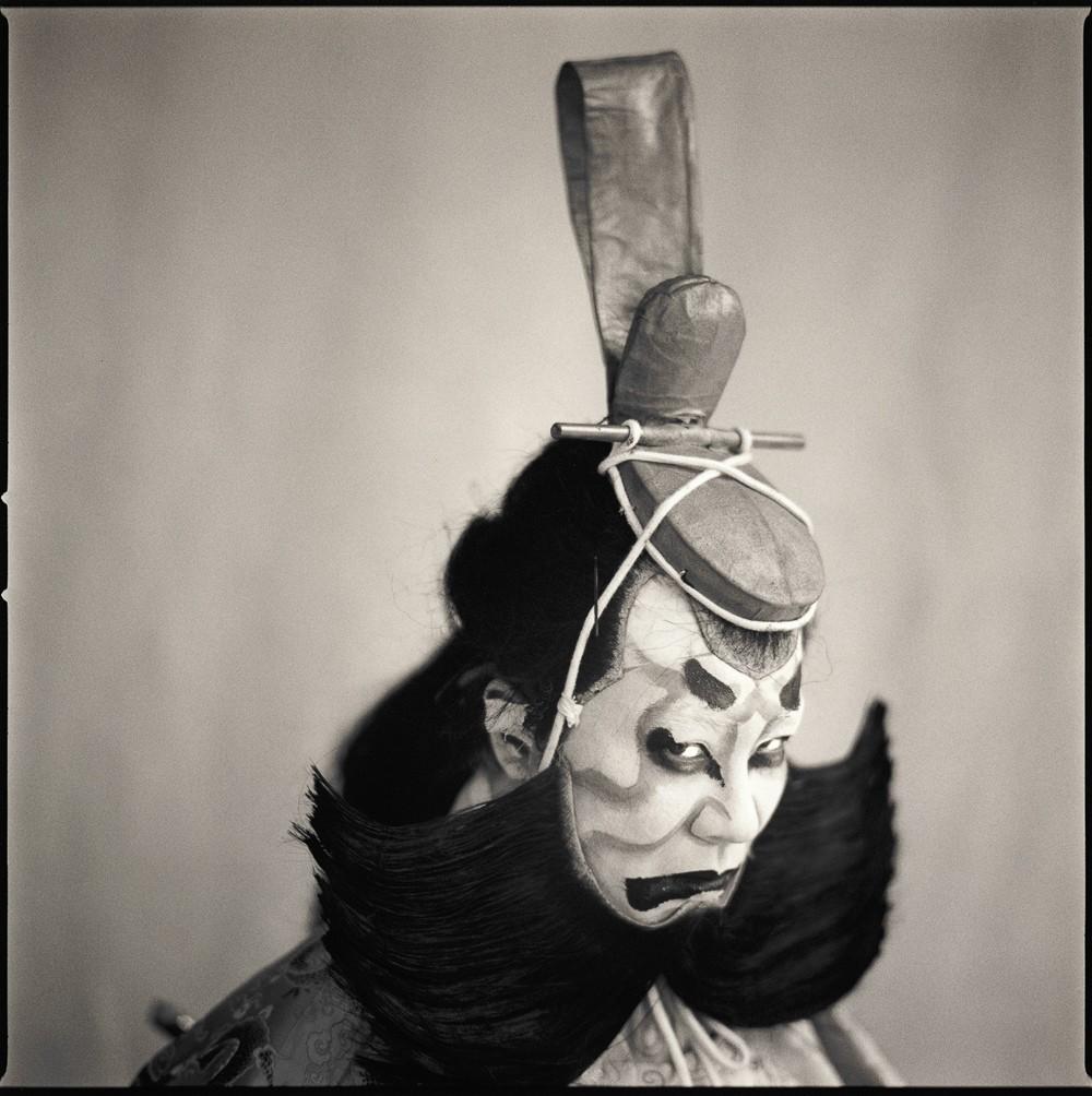 Актёры кабуки. Такахару Канеяма. Хироси Ватанабэ