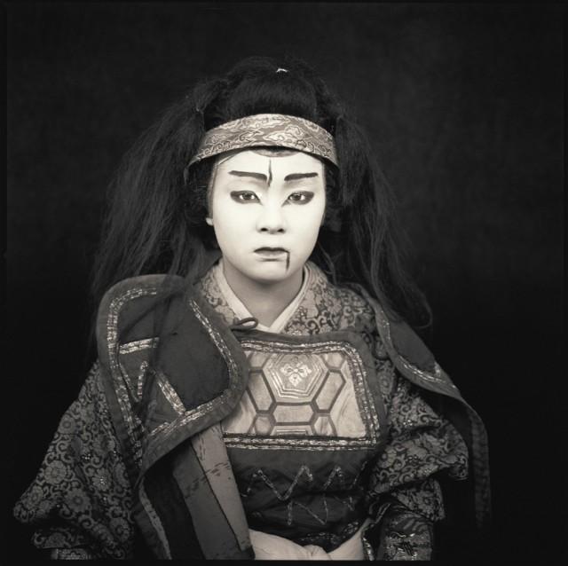 Актёры кабуки. Эри Танака. Хироси Ватанабэ