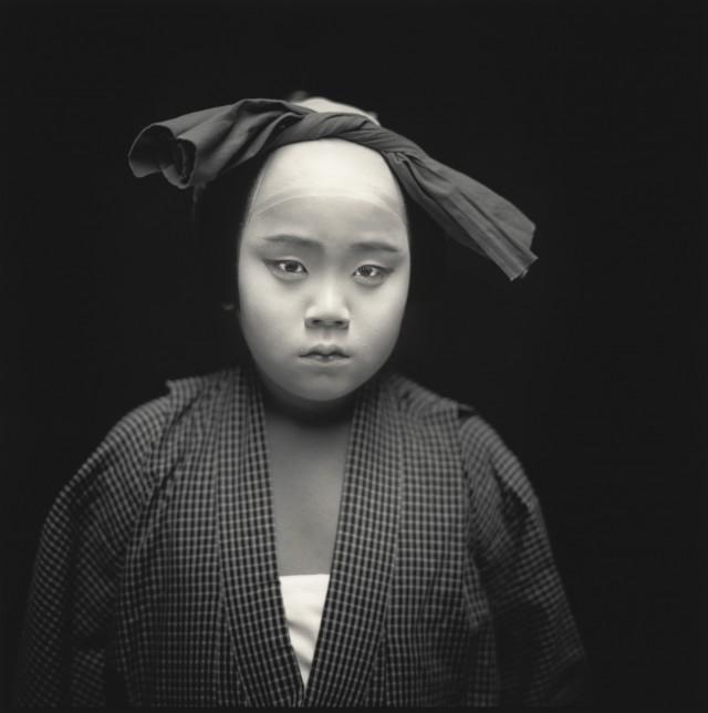 Актёры кабуки. Хироказу Нисидзима. Хироси Ватанабэ