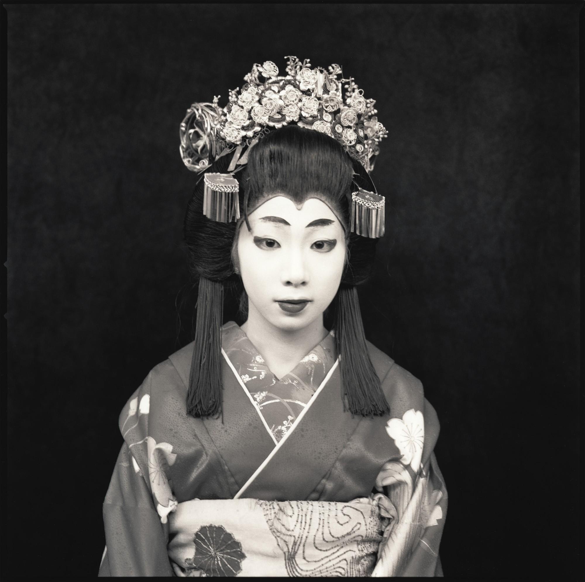 Актёры кабуки. Юка Саруватари. Хироси Ватанабэ