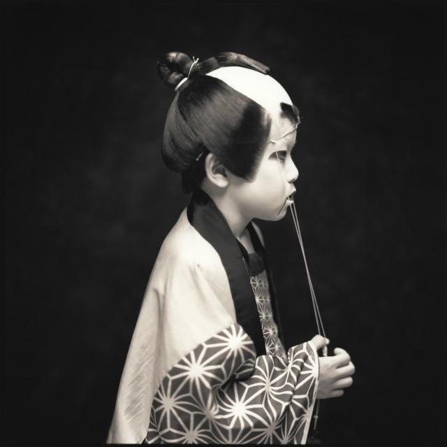 Актёры кабуки. Юки Нонака. Хироси Ватанабэ