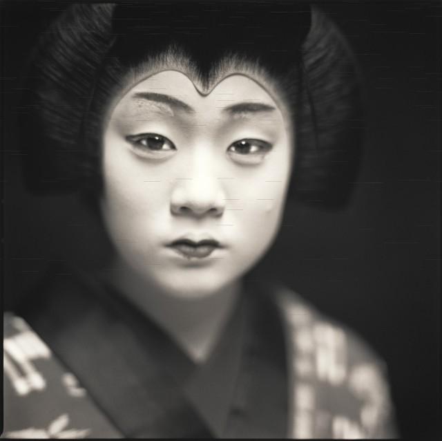 Актёры кабуки. Мики Миягава. Хироси Ватанабэ
