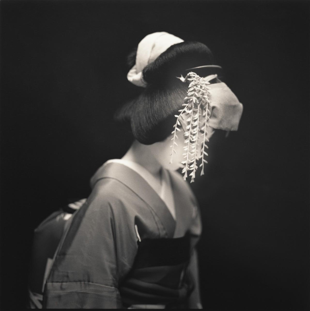 Актёры кабуки. Джун Масуда в роли Оянаги. Хироси Ватанабэ