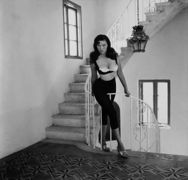 Банни Йеджер, автопортрет, 1956