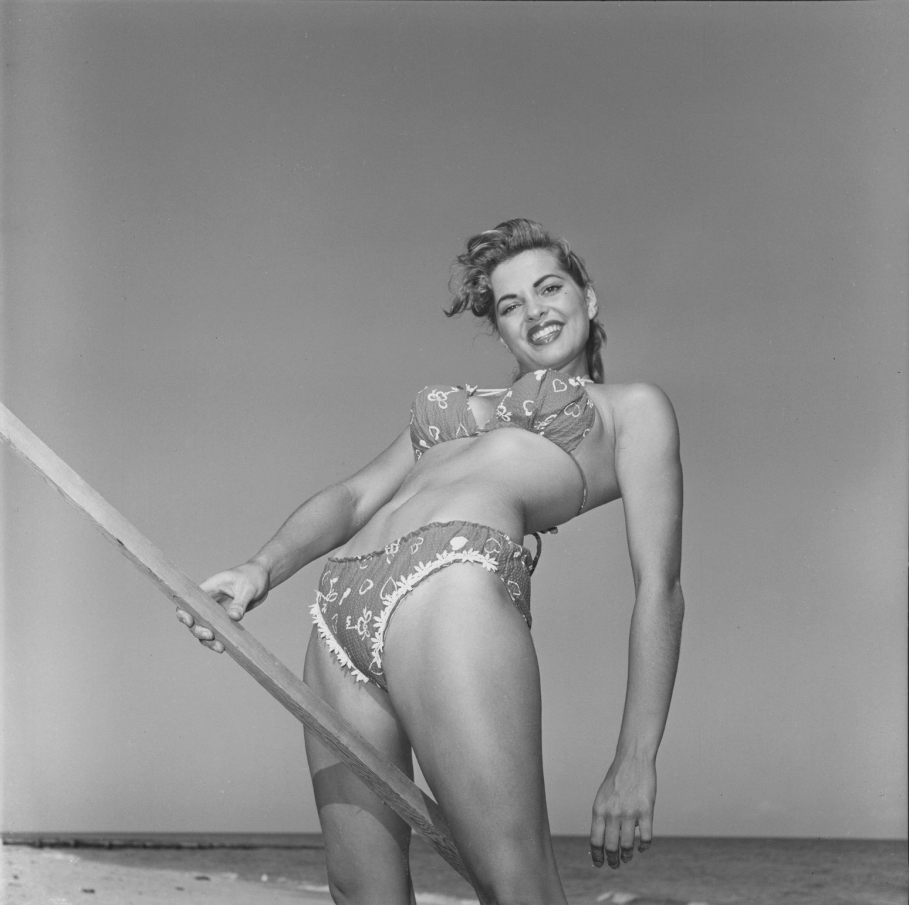 Нэнси Уайт, 1955. Банни Йеджер