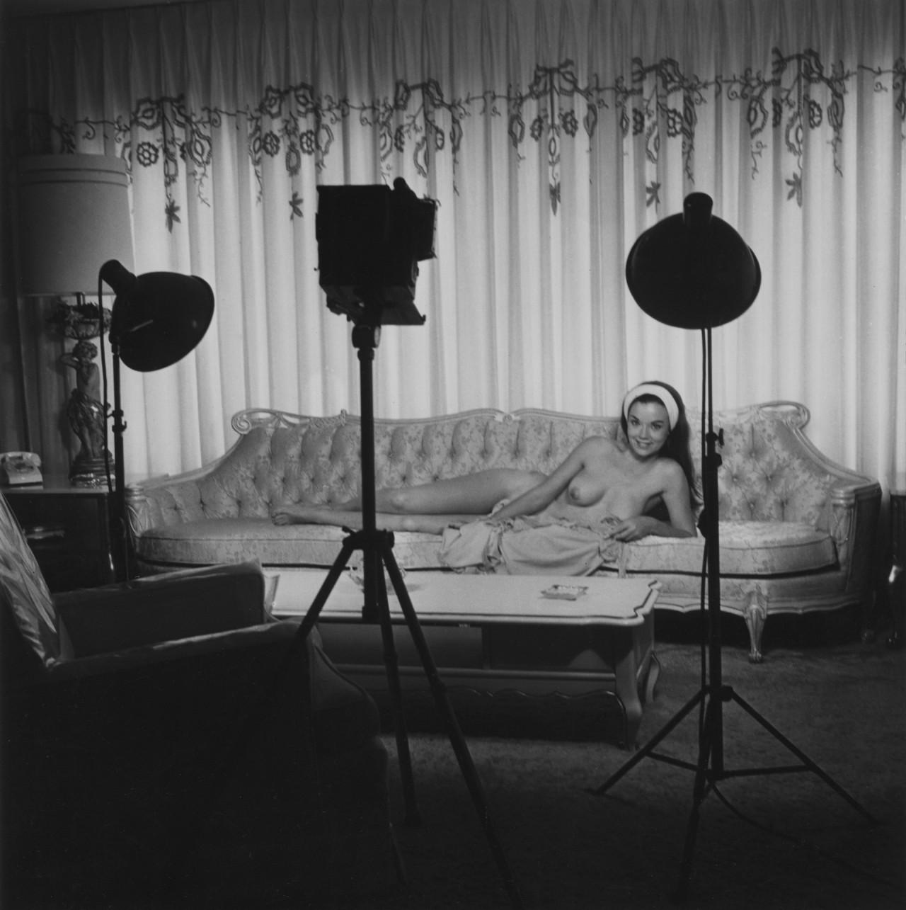 Съёмочная установка, 1950-е. Банни Йеджер
