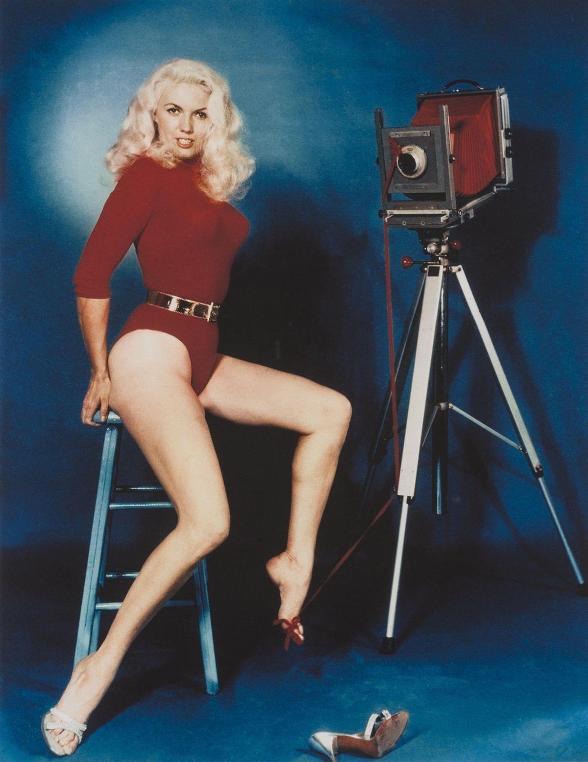 Фотограф и модель Банни Йеджер