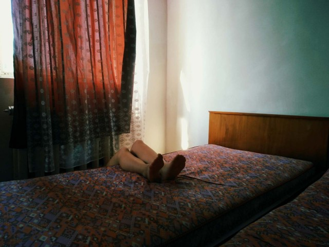 Категория «Мобильный фотограф». Из серии «Красота в заброшенных домах», Грузия. Автор Еллена Карабаки