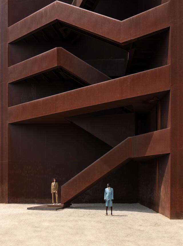 1 место в категории «Архитектор», 2021. Архитектура и мода – сёстры. Автор Джордж Крусталлис