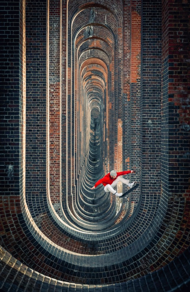 Победитель в категории «Игровая площадка», 2019. Арочный железнодорожный Виадук долины Уз, графство Западный Суссекс, Англия. Автор Лоренц Холдер