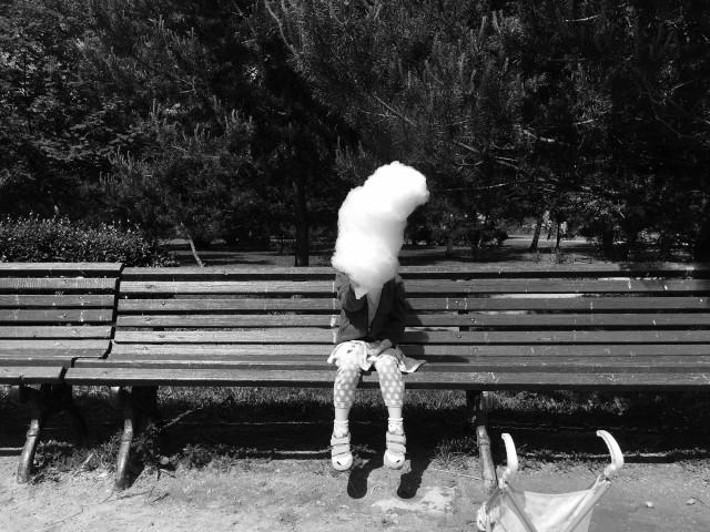 1 место в категории «Дети», 2020. Сахарная вата. Воронцовский парк, Москва. Автор Екатерина Варзар