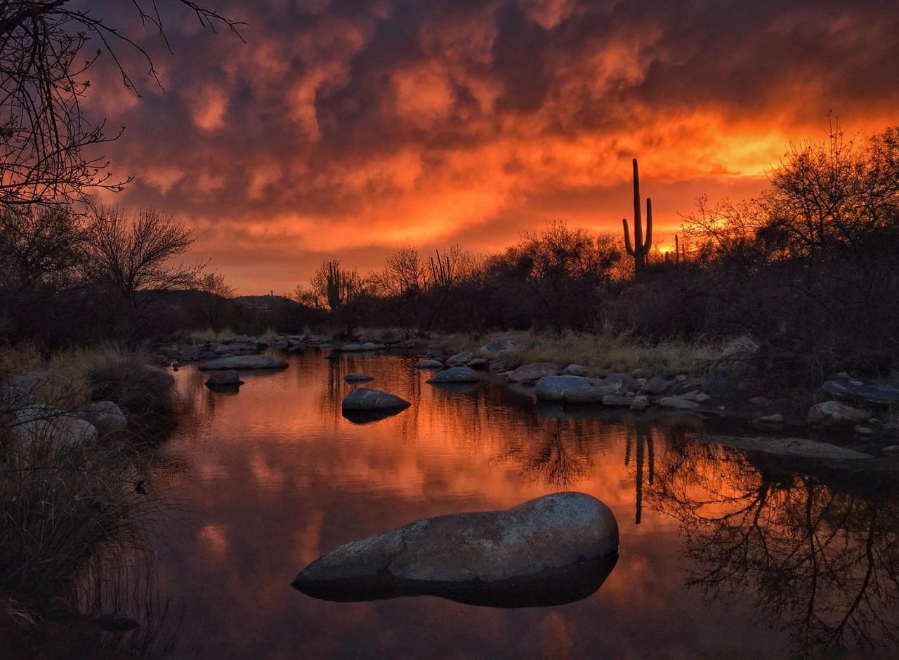 2 место в категории «Закат», 2020. Горы Санта-Каталина, Аризона. Автор Джозеф Сир