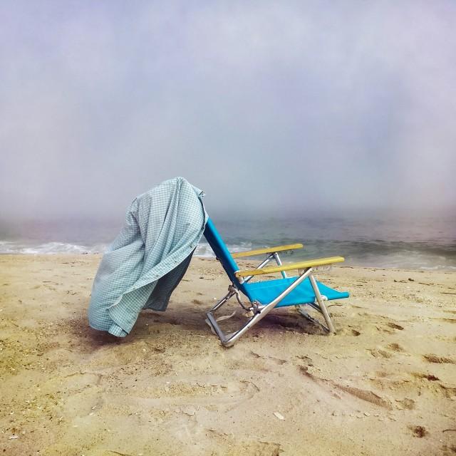 1 место в категории «Другое», 2020. Пляжный стул, Уэстхемптон-Бич, Нью-Йорк. Автор Даниэль Моир