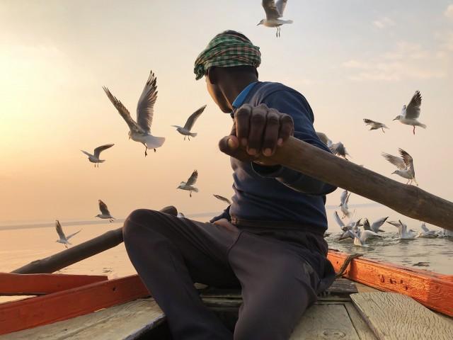1 место в категории «Путешествия», 2020. Варанаси, Индия. Автор Кристиан Круз