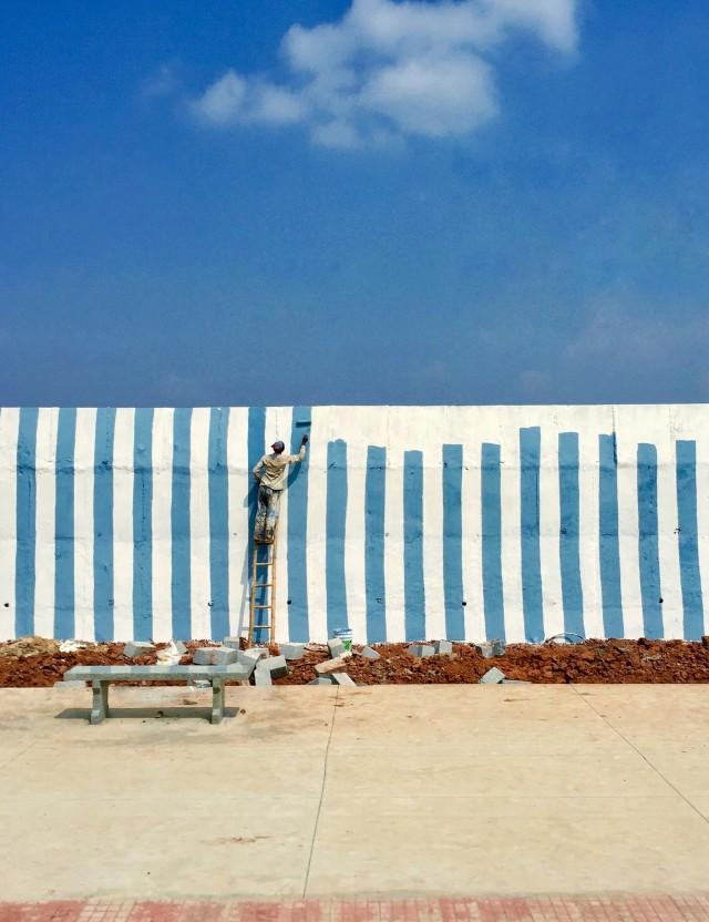 1 место в категории «Фотограф года», 2020. «Стены нет», Индия. Автор Артём Барышев