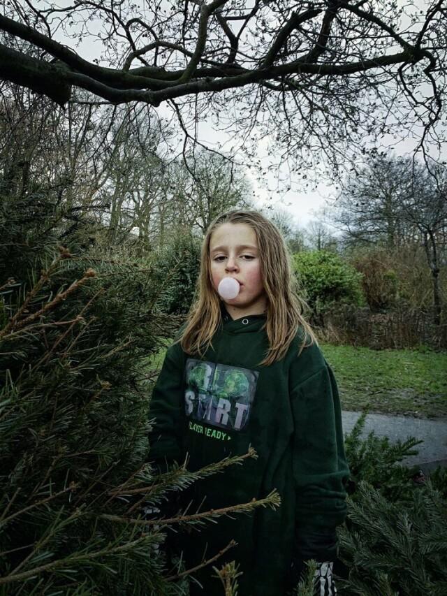 2 место в категории «Портрет», 2021. Ёлки. Брайтон-энд-Хов. Автор Джульет Коуп