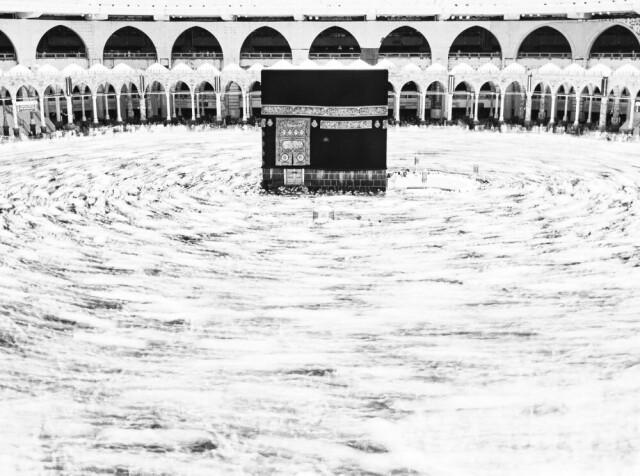 3 место в категории «Путешествия», 2021. «Сердце мусульман». Мекка, Саудовская Аравия. Автор Талиб Альмарри