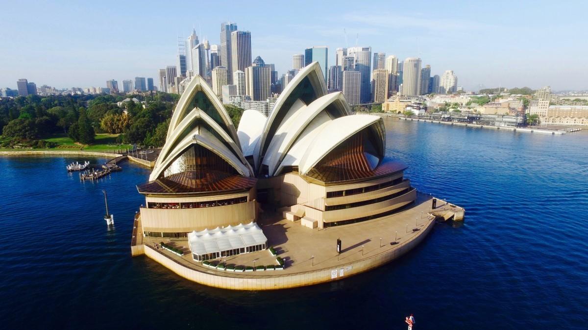 Сиднейский оперный театр, Новый Южный Уэльс, Австралия. Фотограф Overclouds Production