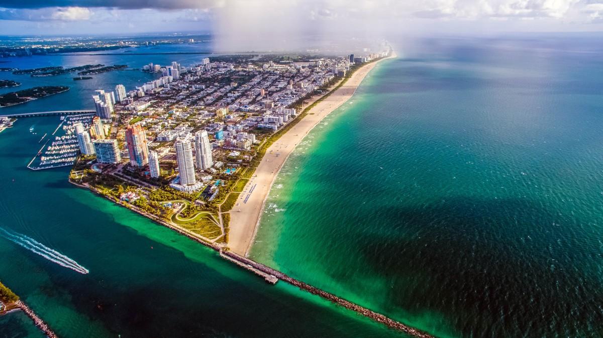 Саут-Бич, Флорида. Фотограф openaircam