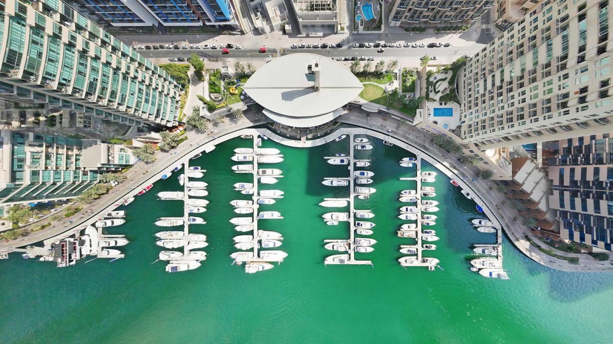 Дубай Марина, район в Дубае, Объединённые Арабские Эмираты. Фотограф GlobalVision 360°