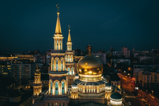 Московская соборная мечеть, Москва. Фотограф Алексей Никитин