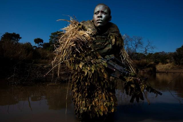 «Фотография года», 2019. «Акашинга» – отряд женщин-рейнджеров, защищающих природу от браконьеров. Зимбабве. Автор Брент Стиртон