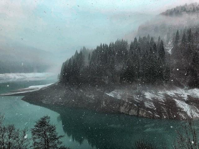 Поощрительная премия в категории «Пейзажи», 2020. «Озеро Саурис». Автор Саманта Деграсси