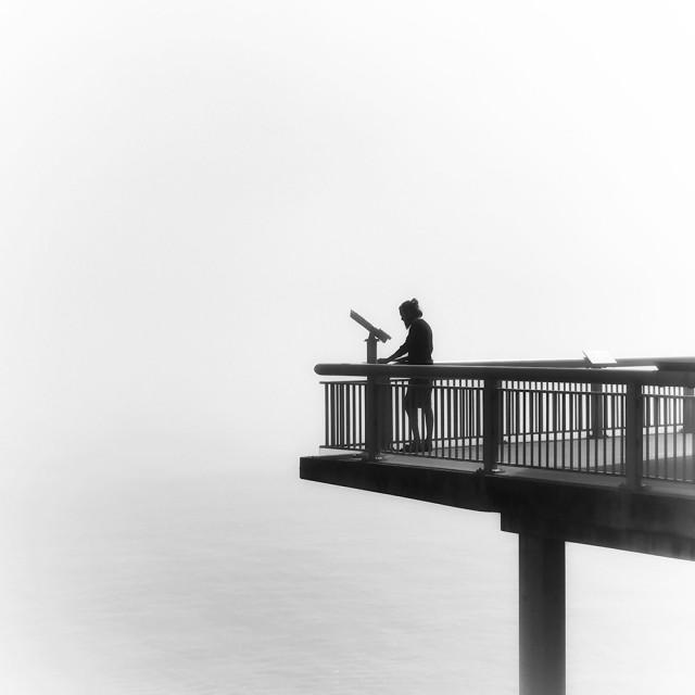 Поощрительная премия в категории «Силуэты», 2020. «Смотровая площадка Монтерея». Автор Лиз Андерсон