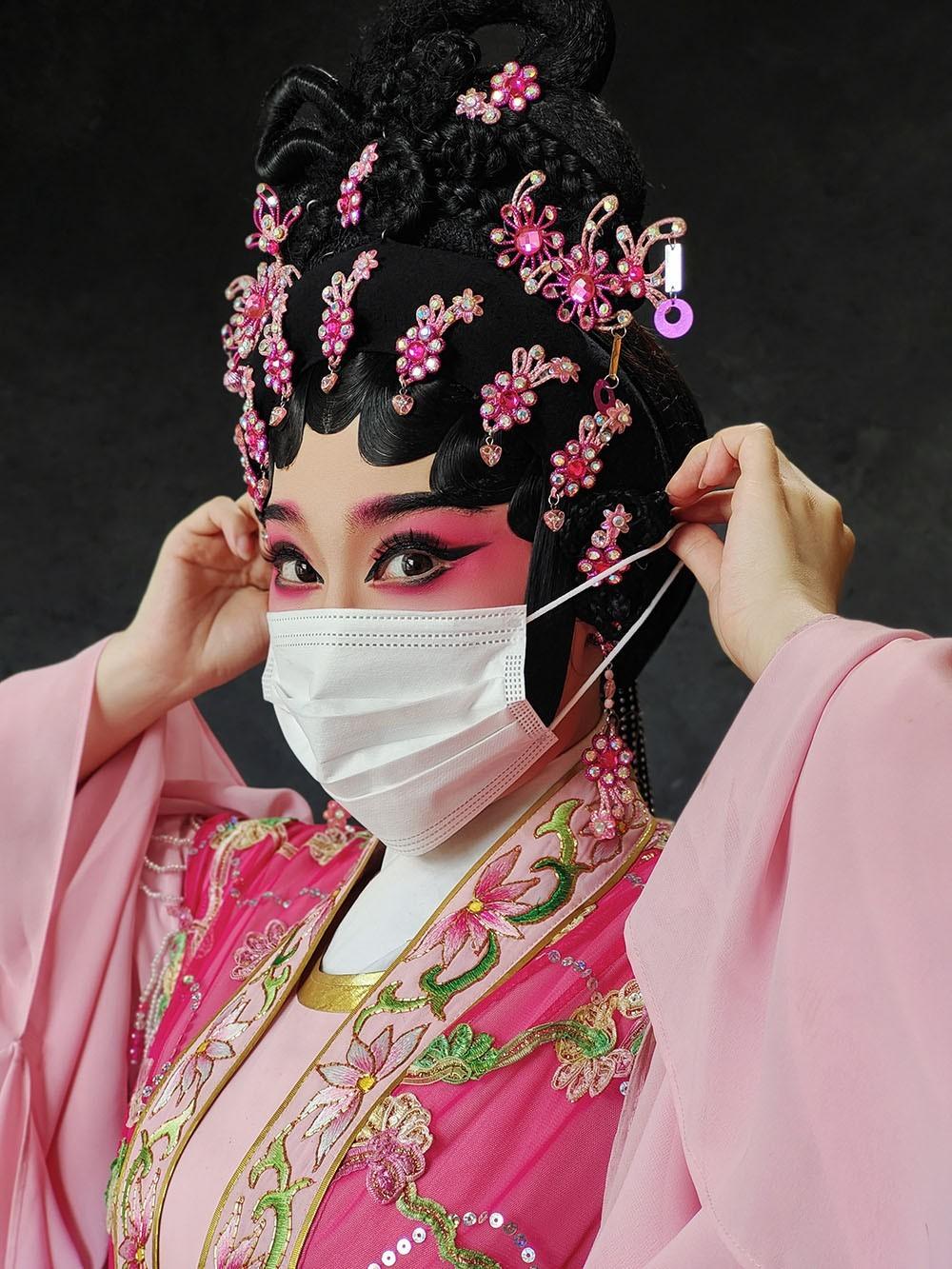 Победитель в категории «Глаза мира», 2020. «Кантонская опера». Автор Куини Чин