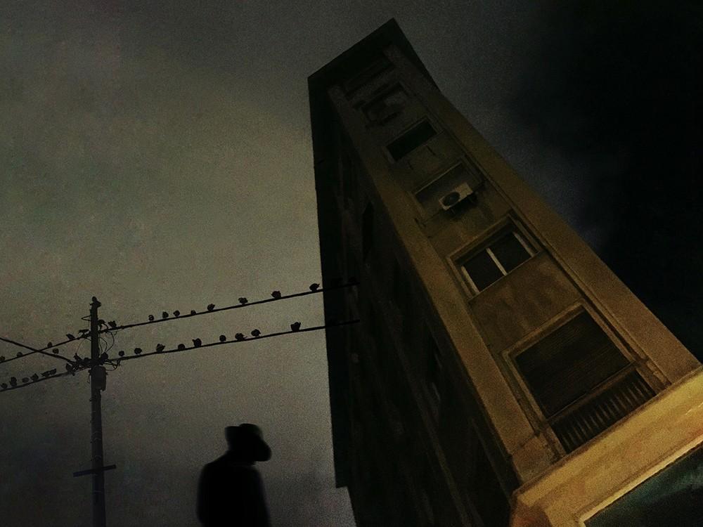 Победитель в категории «Темнота», 2020. «Поздняя ночь». Автор Джордж Кутсувелис
