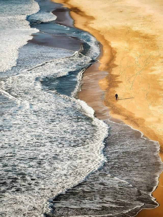 Поощрительная премия в категории «Вода – Снег – Лёд», 2020. «Капище волн». Автор Назарет Санчес Родригес