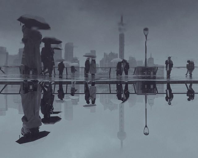 Поощрительная премия в категории  «Вода – снег – лёд», 2019. «Шанхай» Автор Люйшуай Чэн