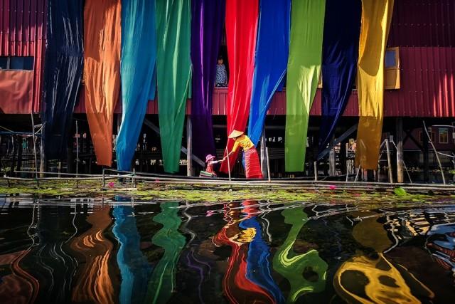Поощрительная премия в категории «Путешествия и приключения (туристическая фотография)», 2019. Красота в повседневной жизни. Автор Хлейнг Минт Мин