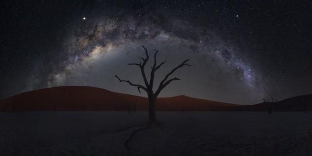 Финалист, 2020. Звёздная ночь в Намибии. Автор Чжу Сяо