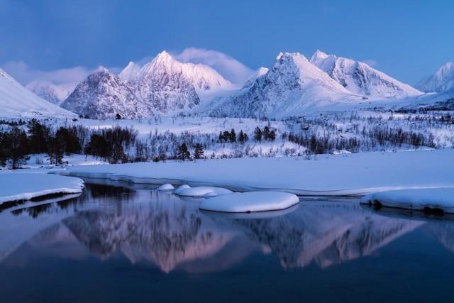Финалист, 2020. Люнгенские Альпы, Норвегия. Автор Клаус Аксельсен