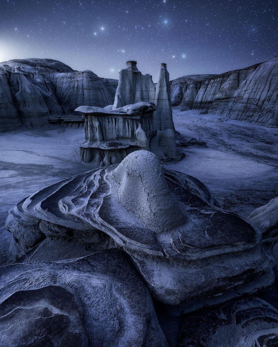 2 место в номинации «Пейзажный фотограф года» 2020. Бесплодные земли Нью-Мексико. Автор Джошуа Сноу