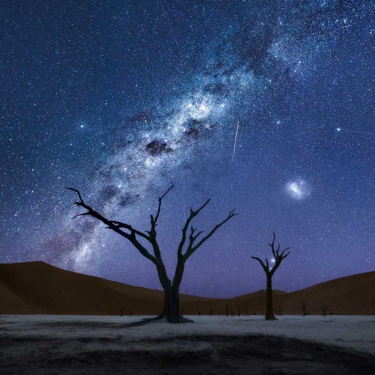 3 место в номинации «Пейзажный фотограф года» 2020. Под небом Намибии. Автор Изабелла Табаччи