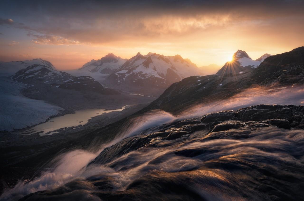 3 место в номинации «Пейзажный фотограф года» 2019. Водопад. Автор Блейк Рэндалл