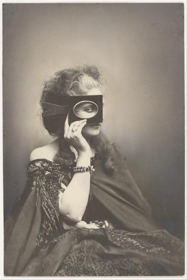 «Сумасбродная шутка». Графиня ди Кастильоне, 1861-67. Автор Пьер-Луи Пирсон
