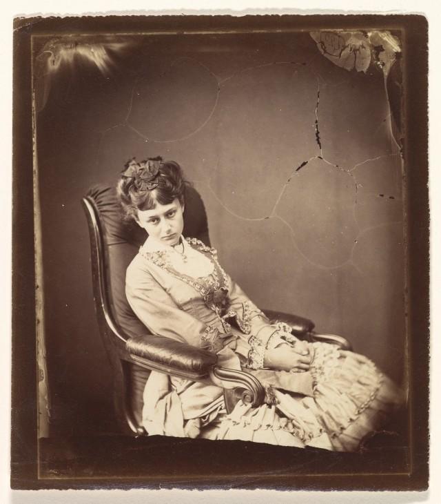 Алиса Плезенс Лидделл, 1870. Автор Льюис Кэрролл