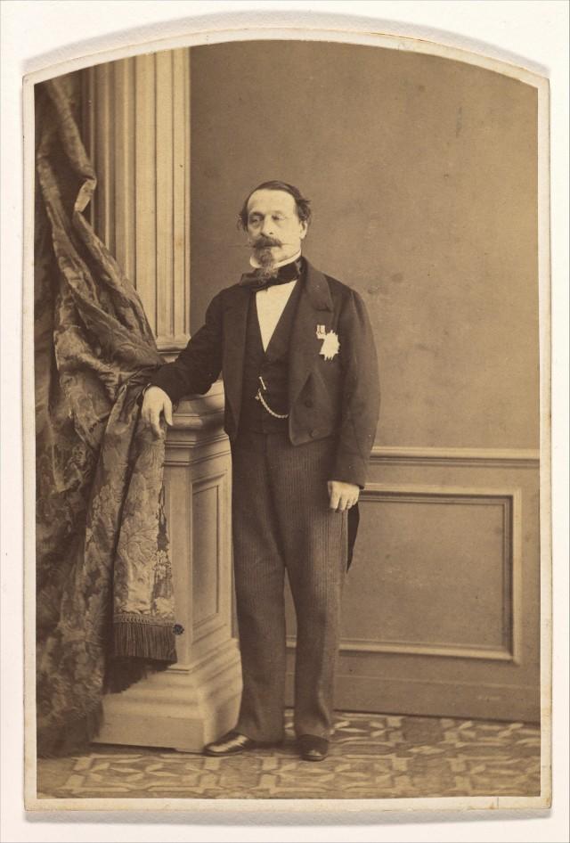 Император Наполеон III, март 1860 года. Автор Олимп Агуадо де лас Марисмас