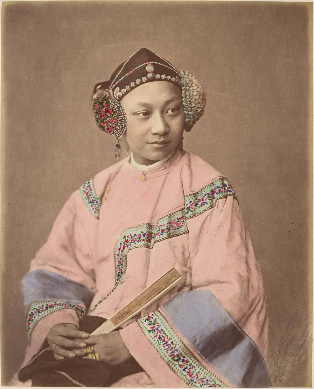Китайский портрет, 1870. Автор Раймунд фон Стиллфрид