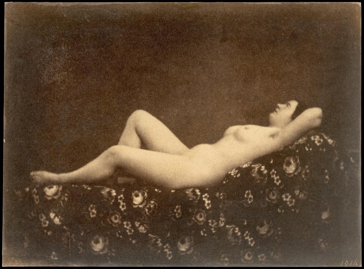 Обнажённая женщина, 1853. Автор Жюльен Валлу де Вильнев