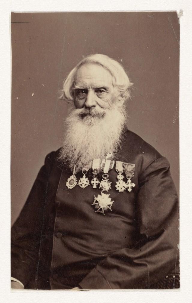 Сэмюэл Финли Бриз Морзе, 1870. Автор Мэтью Б. Брейди