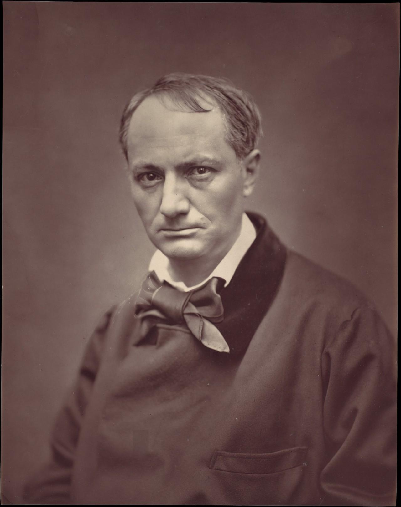 Французский поэт Шарль Бодлер, 1863. Автор Этьенн Каржа